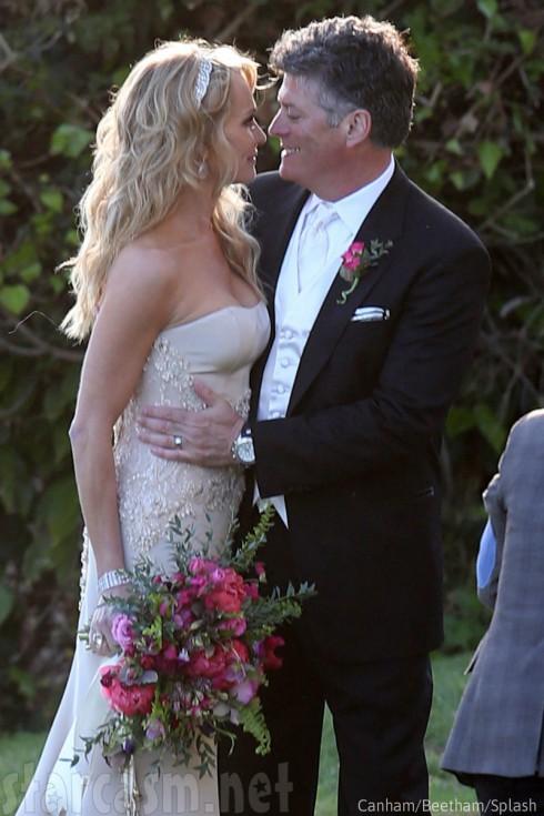 Taylor Armstrong and John Bluher Wedding