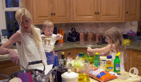 True Tori Spelling children 1st reality show photos from Lifetime