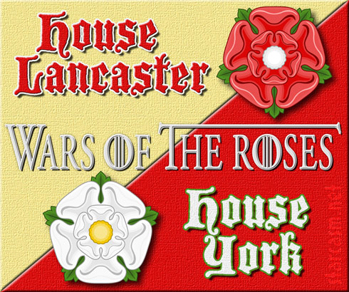 Wars of the Roses Game of Thrones - click to enlarge
