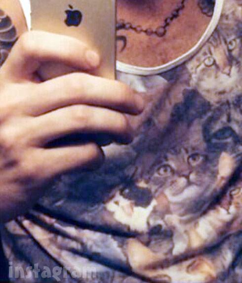 Adam Levine cat tank top