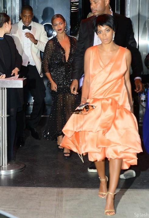 Beyonce Jay-Z Solange Met Ball