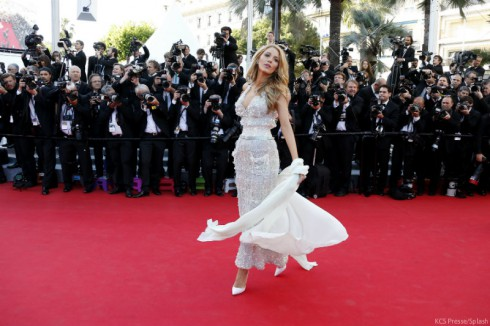 Blake Lively Cannes 2014 Red Carpet