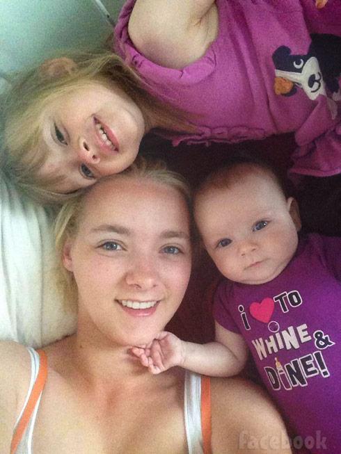Breaking Amish Rebecca Schmucker and daughters Kayla and Malika Rayne