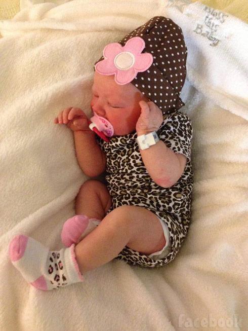 Breaking Amish Rebecca's baby daughter Malika Rayne