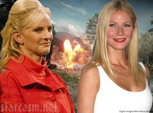 Cindy McCain - Gwyneth Paltrow War Comments