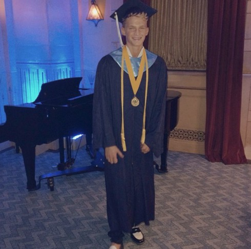 Cody Simpson High School Graduation