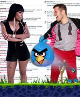 K. Michelle Perez Hilton feud on Twitter over Iggy Azalea