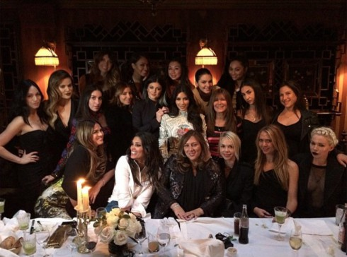 Kim Kardashian Bachelorette Party Last Supper