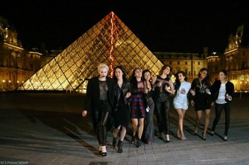 Kim Kardashian Louvre