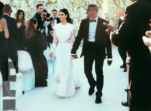 Kimye Wedding - Kim Kardashian and Kanye West Aisle