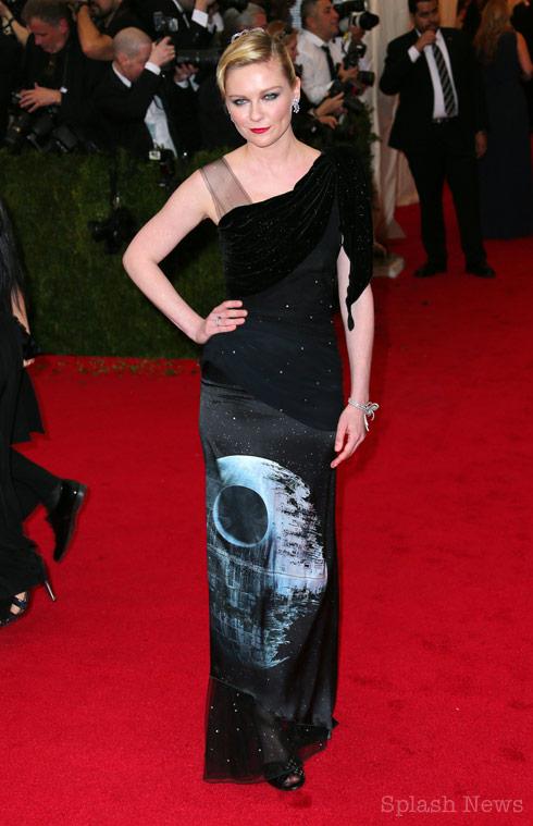 Kirsten Dunst Death Star dress