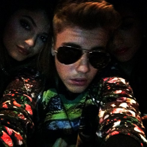 Kylie Jenner and Justin Bieber