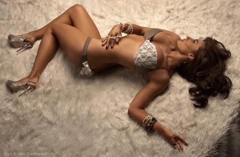 Real Housewives of Orange County Lizzie Rovsek bikini photo