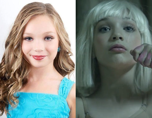 Dance moms maddie ziegler sia music video chandelier dancing maddie ziegler dance moms aloadofball