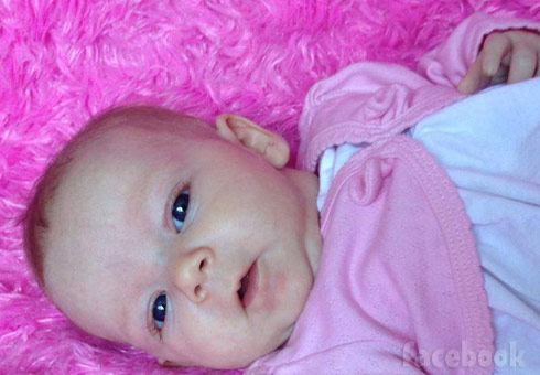 Rebecca Schmucker's baby Malika photo