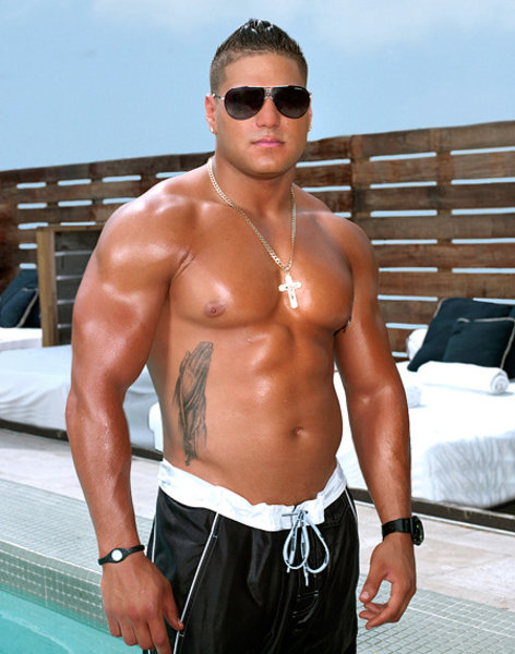 Ronnie Magro Jersey Shore Shirtless