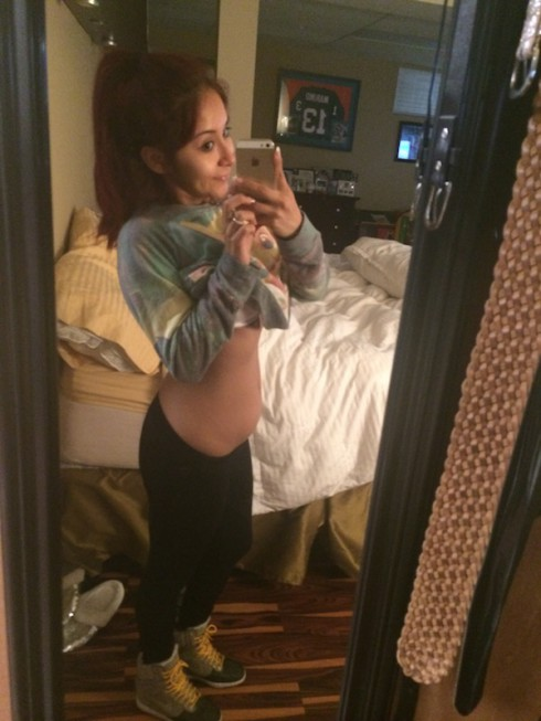 Snooki Baby Bump 17 Weeks