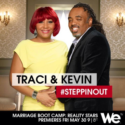 Traci Braxton and Kevin Surratt Marriage Boot Camp: Reality Stars