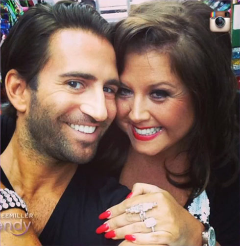Abby Lee Miller engagement ring fiance Michael Padula