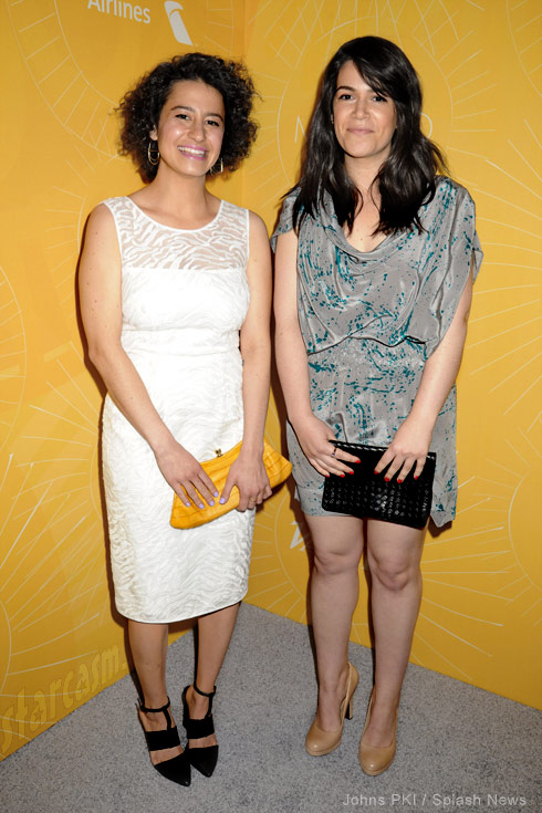 Broad City Ilana Glazer and Abbi Jacobson Variety Power of Women Luncheon red carpet