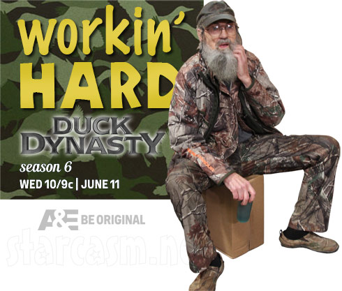 Duck Dynasty Season 6 Uncle Si workin hard