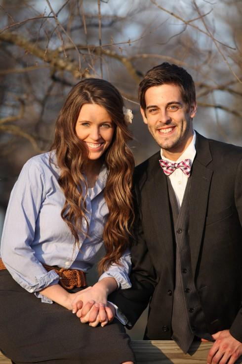 Jill Duggar - Derick Dillard Engagement Picture