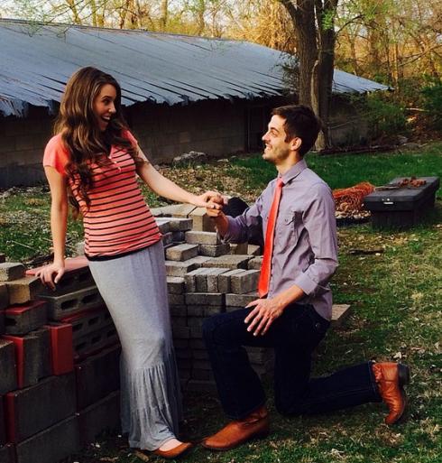 Jill Duggar Engaged - Derick Dillard Proposal