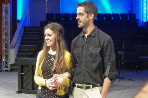 Jill and Derick Dillard Rehearsal