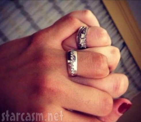Kailyn Lowry and Javi Marroquin Wedding Bands