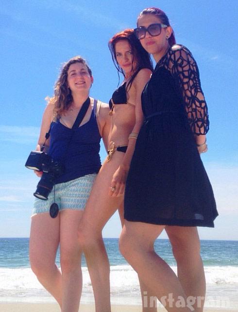 Return To Amish Kate Stoltz bikini photo shoot