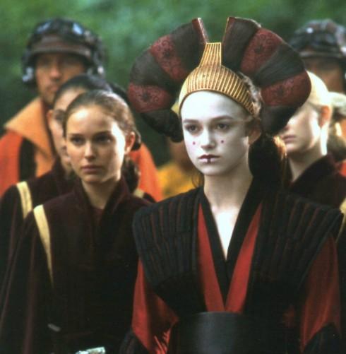 Keira Knightley - Natalie Portman - Star Wars Episode I- The Phantom Menace