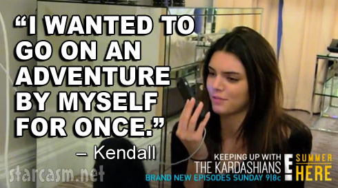 Kendall Jenner quote