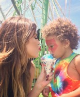 Khloe Kardashian and Zeplin Kidchella