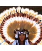 Khloe Kardashian's Native American headdress at Kidchella