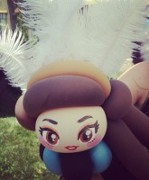 Kidchella balloon girl Khloe Kardashian