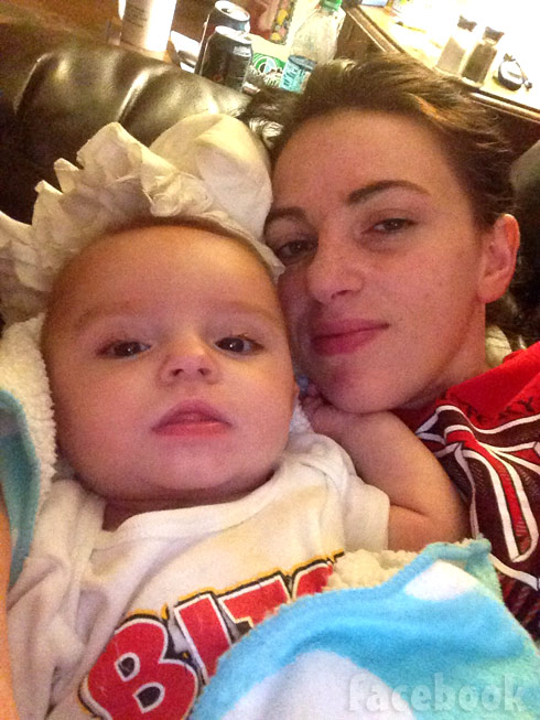 Gypsy Sisters Mellie Stanley son Richard December 2013