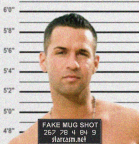 mike from jersey shore arrested