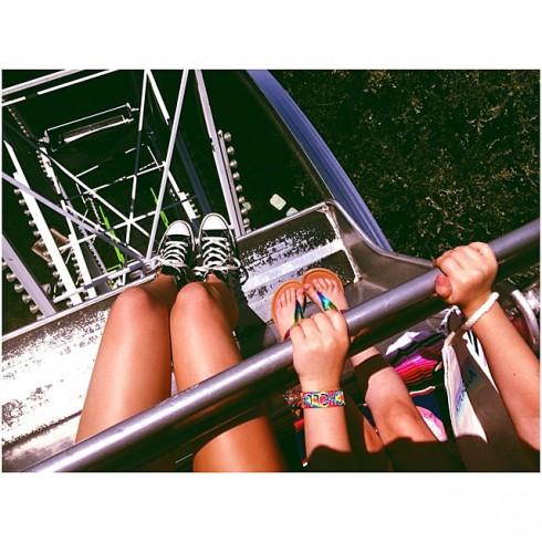 North West birthday Kidchella Ferris wheel view Kendall Jenner