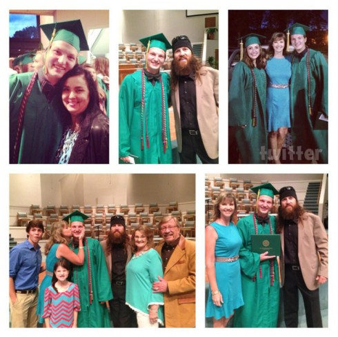 Duck Dynasty Missy and Jase's son Reed Robertson high school graduation photos