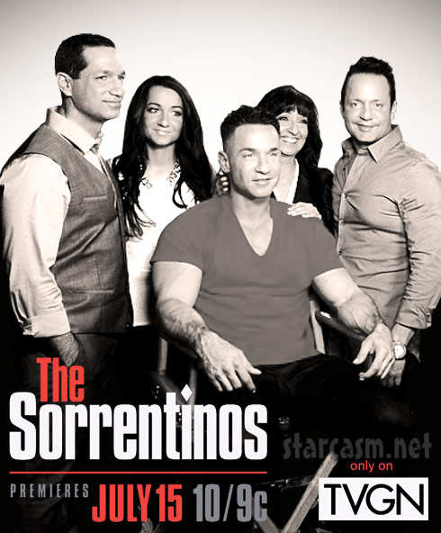 The Sorrentinos Sopranos graphic TV Guide Network The Situation family reality show