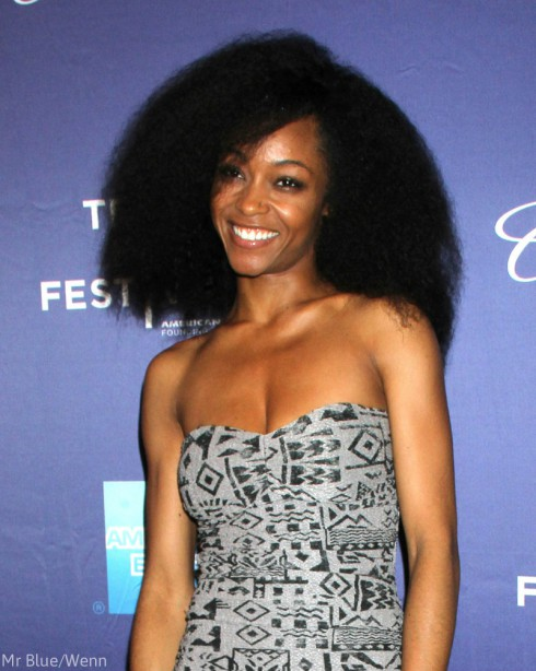 Yaya DaCosta - Whitney Houston Biopic