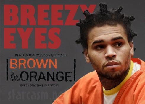 Chris Brown Breezy Eyes Brown Is the New Orange