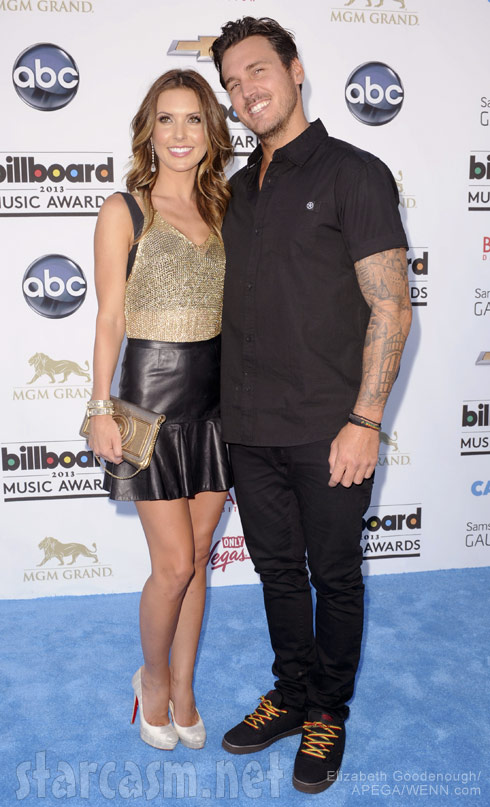 Audrina Patridge and Corey Bohan together 2014