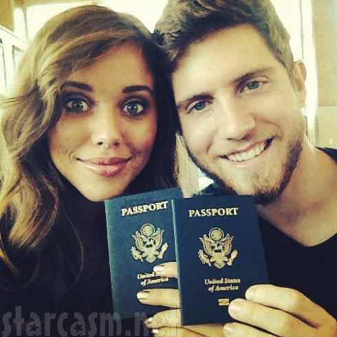 Ben Seewald and Jessa Duggar Central America Mission Trip
