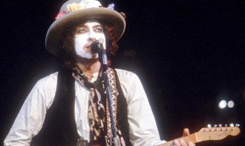Bob Dylan White Face Paint Rolling Thunder Revue