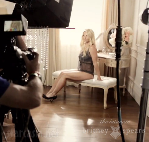 Britney Spears in lingerie photo shoot
