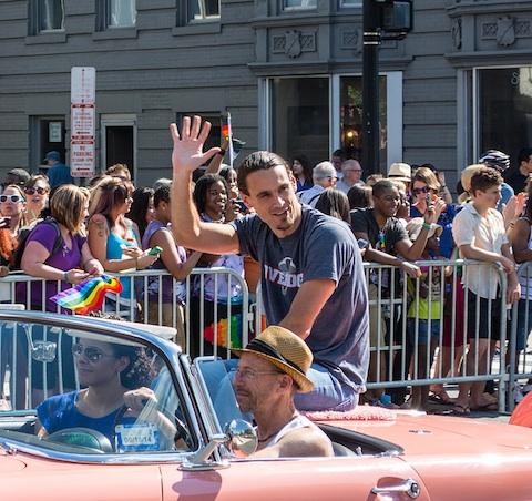 Chris Kluwe DC Pride Parade