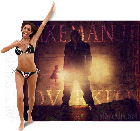 Farrah Abraham Axeman 2 horror movie - click to enlarge