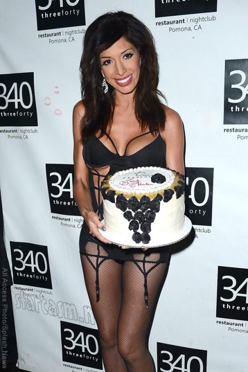 Farrah Abraham cake