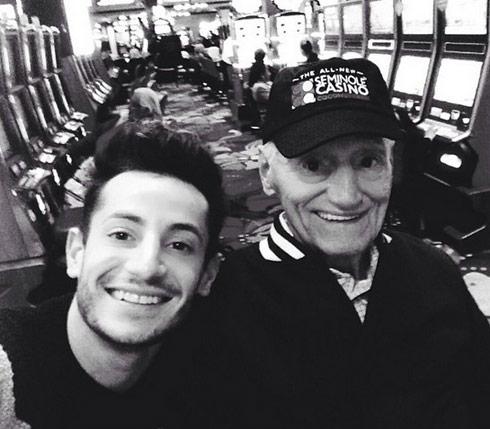 Frankie-Grande-and-his-Grandpa